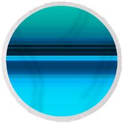 Fall From Earth Round Beach Towel