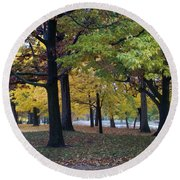 Fall Series 14 Round Beach Towel