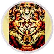 Fallen Angels 1503 Davinci Round Beach Towel