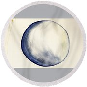 Falling Round Beach Towel
