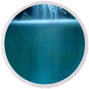Falls Pool Round Beach Towel