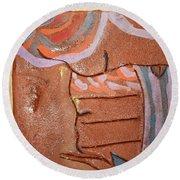 Family 15 - Tile Round Beach Towel