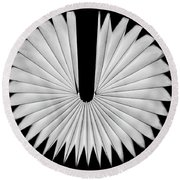 Fan Round Beach Towel