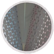 Fan Screen Round Beach Towel