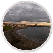 Fanabe Evening Round Beach Towel