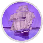 Fantasy Shade Round Beach Towel