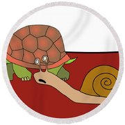 Fast And Furious Round Beach Towel