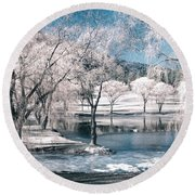 February 22 2010 Round Beach Towel
