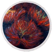 Fellowship Round Beach Towel by Nadine Rippelmeyer