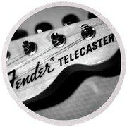 Fender Telecaster Round Beach Towel