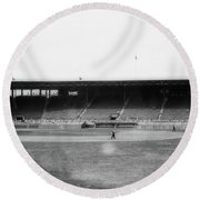 Fenway Park 1914 Round Beach Towel