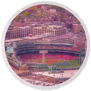 Fenway Park - Boston Round Beach Towel