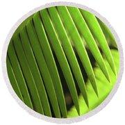 Fern Leaf Round Beach Towel