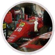 Ferrari 156/85 Round Beach Towel