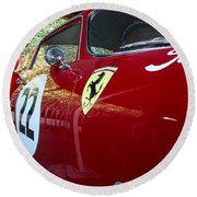 Ferrari 250 Gt Round Beach Towel