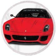 Ferrari 599xx Round Beach Towel
