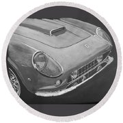 Ferrari F250 California Round Beach Towel