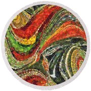 Fiesta Mexicana Round Beach Towel
