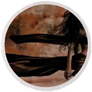 Figurative Art 095a Round Beach Towel