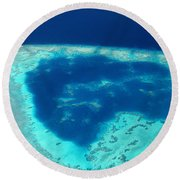 Fiji Aerial Round Beach Towel
