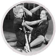 Film Still: Chicago, 1927 Round Beach Towel