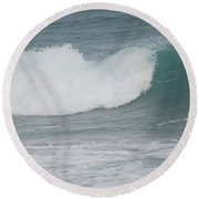 Fin Wave Round Beach Towel