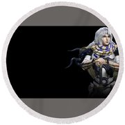 Final Fantasy Iv The After Years Round Beach Towel