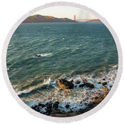 Find Your Bliss Round Beach Towel