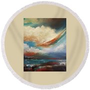 Finding Relief Round Beach Towel