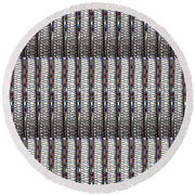 Fineart From Wire Mesh Jewellery Unique Patterns N Textures By Navinjoshi At Fineartamerica.com Usa  Round Beach Towel