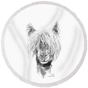 Finn Round Beach Towel
