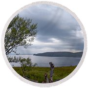 Finnmark Panorama Round Beach Towel