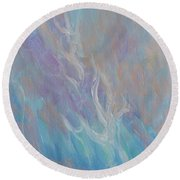 Fires Of Revival Round Beach Towel