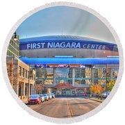 First Niagara Center Round Beach Towel