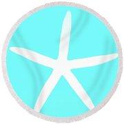 First Starfish Round Beach Towel