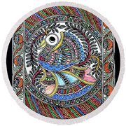 Fish 1 A Round Beach Towel