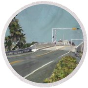 Fishermen At Southern Round Beach Towel