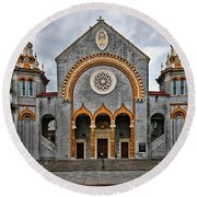 Flagler Memorial Presbyterian Church Round Beach Towel