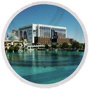 Flamingo Casino/hotel Round Beach Towel