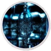 Flash In The Pan Round Beach Towel