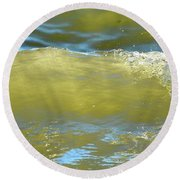 Fleeting Moment  Round Beach Towel