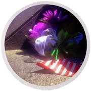 Flight 93 Round Beach Towel