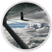 Flight Of Dreams Round Beach Towel
