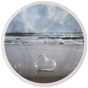 Float Bounce And Roll Round Beach Towel