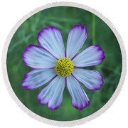 Floating Flower Round Beach Towel