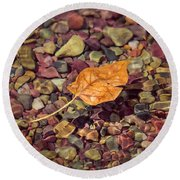 Floating Leaf Round Beach Towel