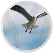 Floating On Air Round Beach Towel
