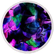Floral Expressions 080616-2 Round Beach Towel