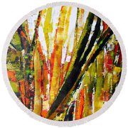 Floresta Vi Round Beach Towel
