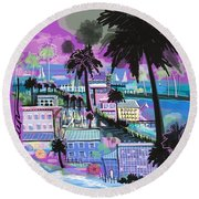 Florida 2 Round Beach Towel